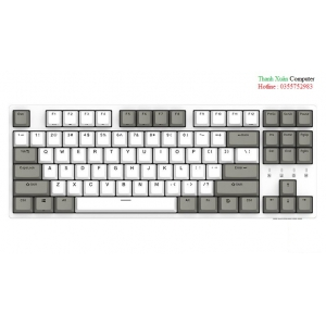 Bàn phím cơ Durgod Taurus K320 Nature White Brown switch