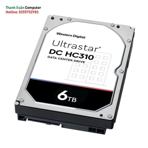 Ổ cứng HDD WD Enterprise Ultrastar DC HA310 6TB/ 7200rpm Sata 256MB